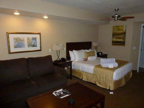Sedona Summit Resort: Studio Bed Area