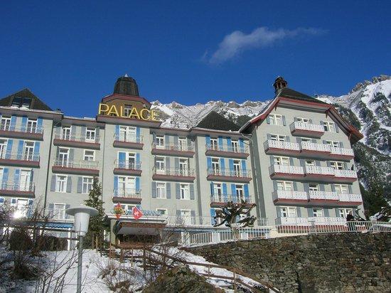 Club Med Wengen : facciata del palace club med