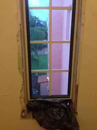 The Clay Hotel: Baumaßnahmen im Treppenhaus