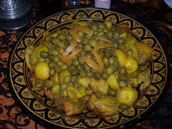 Riad Argan: Tagine poulet citrons