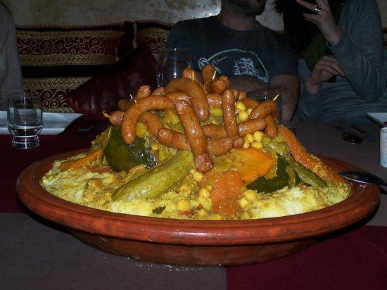 Riad Argan: Couscous