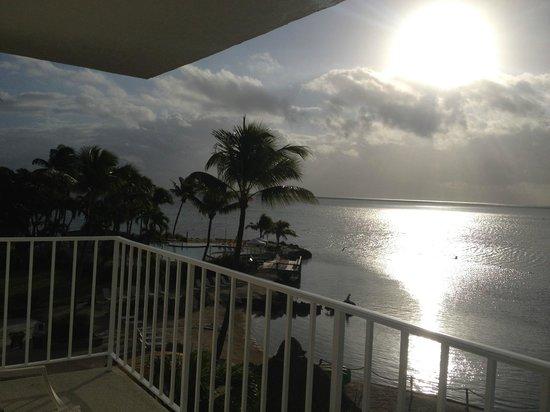 Postcard Inn Beach Resort & Marina: View from Balcony