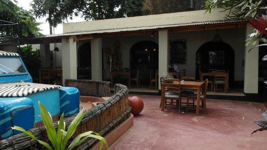 Kiboko Town Hotel Restaurant: The restaurant