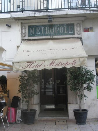 Hotel Metropole: entrée de l'hotel