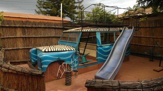 Kiboko Town Hotel Restaurant: For the kids!