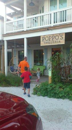 Poppo's Taqueria: På väg till maten
