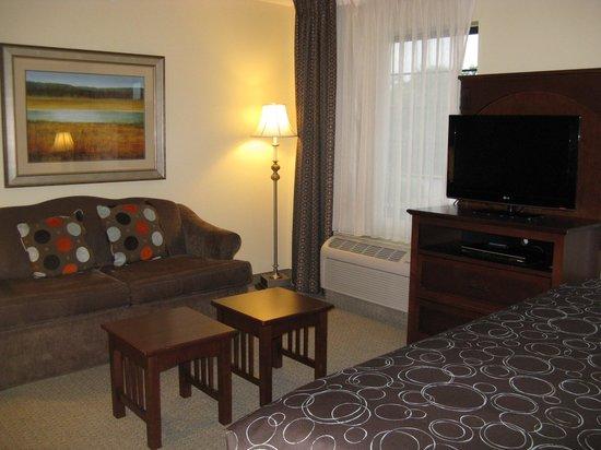 Staybridge Suites South Bend - University Area: South Bend, IN Staybridge Suites -- Sitting Area