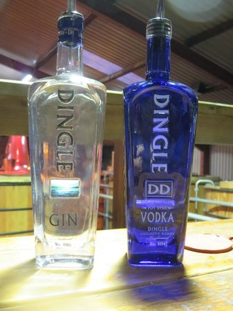 Dingle Whiskey Distillery: Dingle Gin and Dingle Vodka