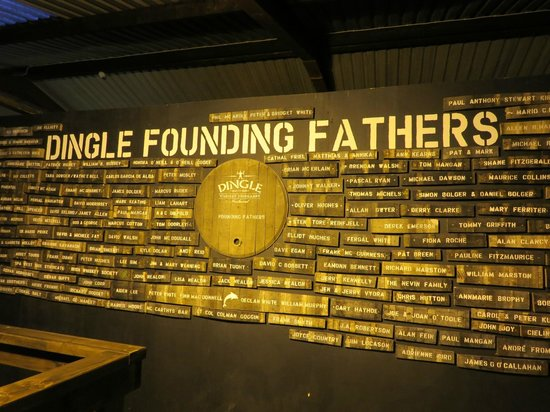 Dingle Whiskey Distillery: Dingle Founding Fathers