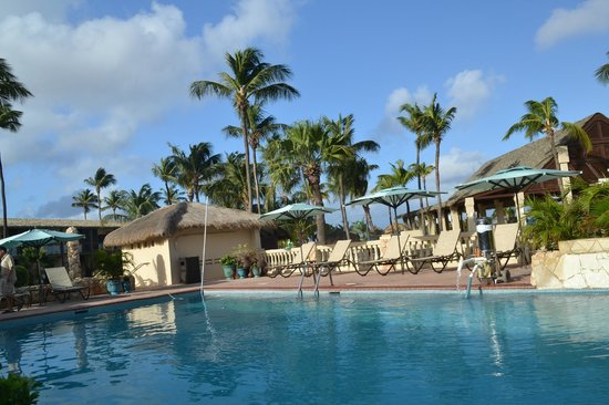 Manchebo Beach Resort & Spa: Pool at Manchebo beach resort