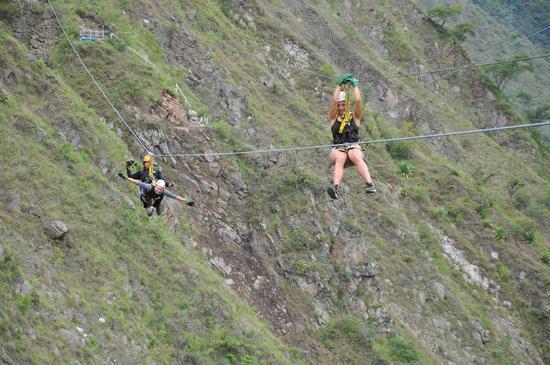 Zipline Inka Flyer Santa Teresa: ye ha