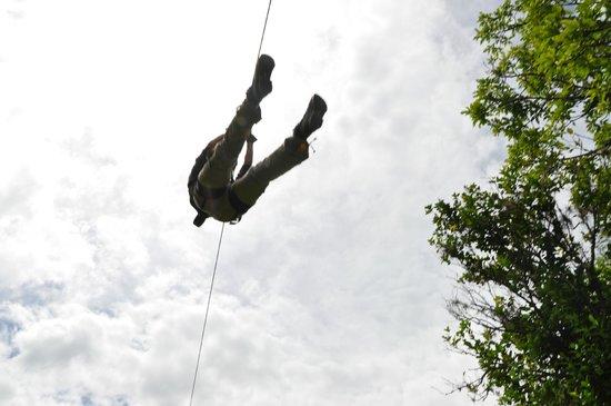 Zipline Inka Flyer Santa Teresa: like a bird watching inka jungle