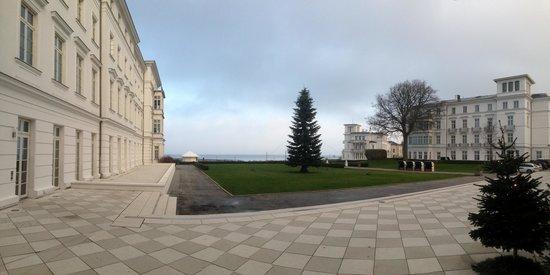 Grand Hotel Heiligendamm: Blick vom Kurhaus