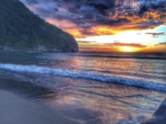 Mukul Beach Golf & Spa: Sunset