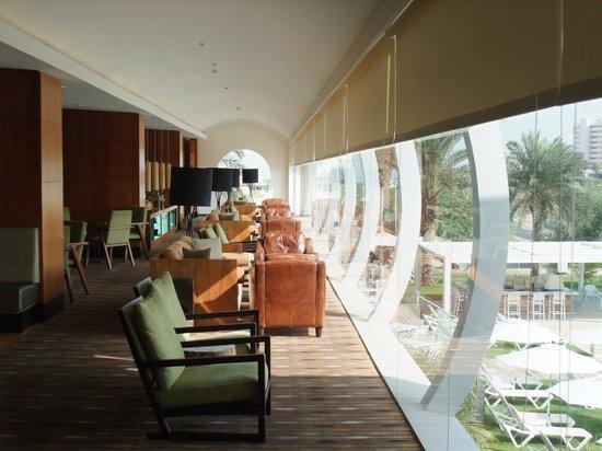 Isrotel Ganim : hotel lounge