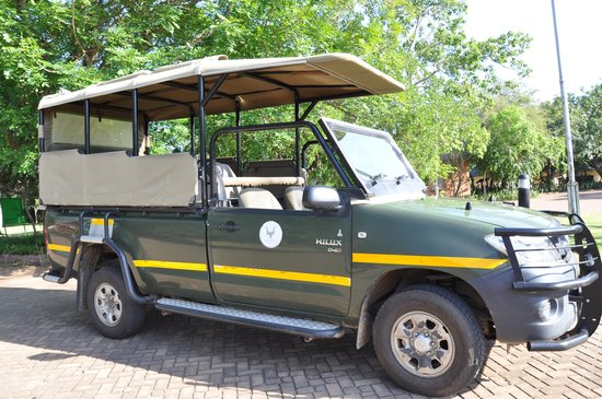 Nkambeni Safari Camp : Les 4x4 pour les safaris