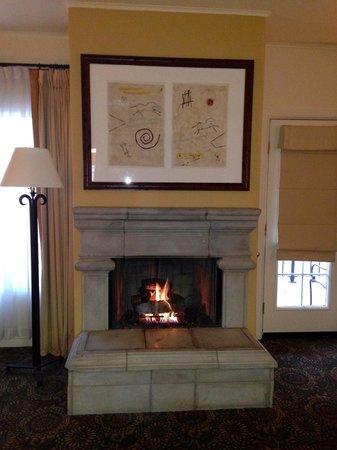Fairmont Scottsdale Princess: Casita fireplace