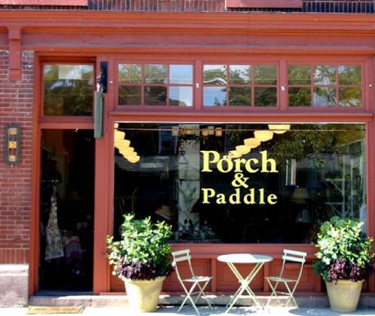 Porch and Paddle: Porch & Paddle Storefront