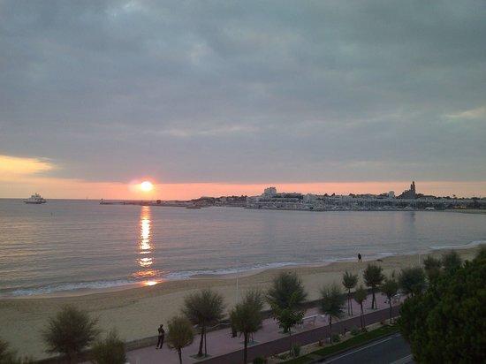 Hotel Le Trident Thyrse: vue du balcon
