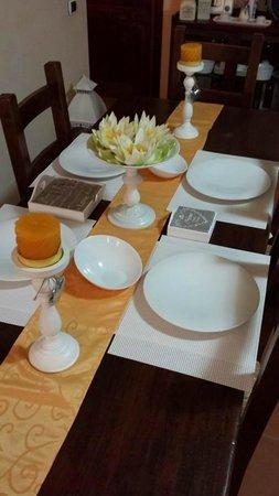 Guest House Su Misura: Particolare Sala Colazione