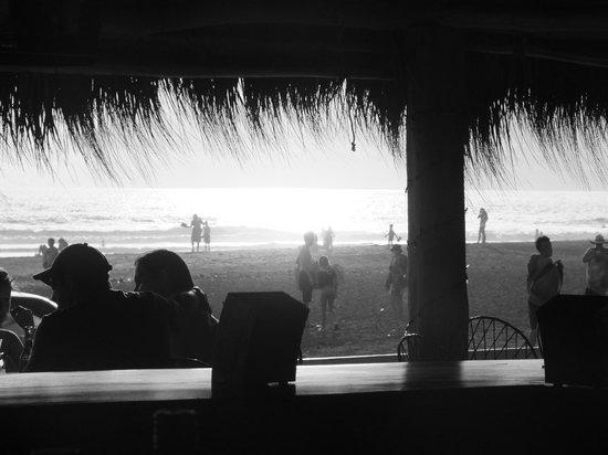 Tangeri Hotel : Vista desde el bar de la playa