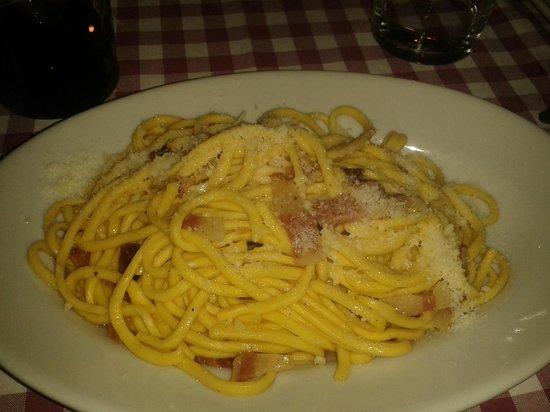 La Fraschetta: pasta alla gricia