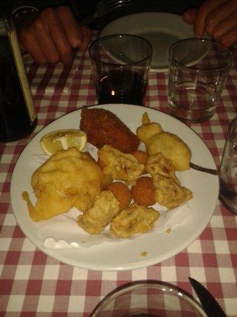 La Fraschetta: fritti