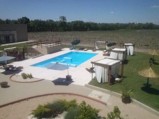 Fuente Mayor Hotel & Resort : Vista desde el Primer Piso