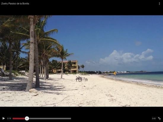 Zoetry Paraiso de la Bonita: Beach in front of the resort