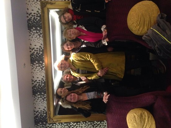 Hilton London Syon Park : Queens Park Queens spa day for Susan & Davina's Birthdays.
