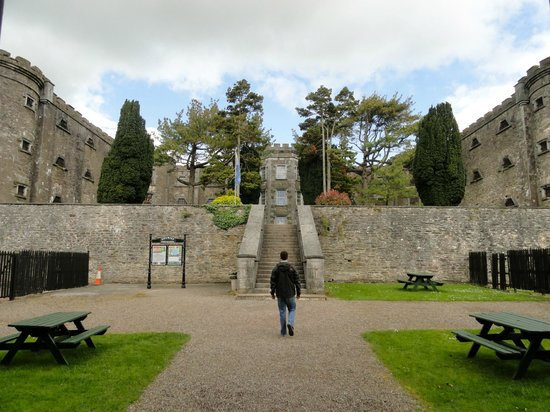 Cork City Gaol entrance