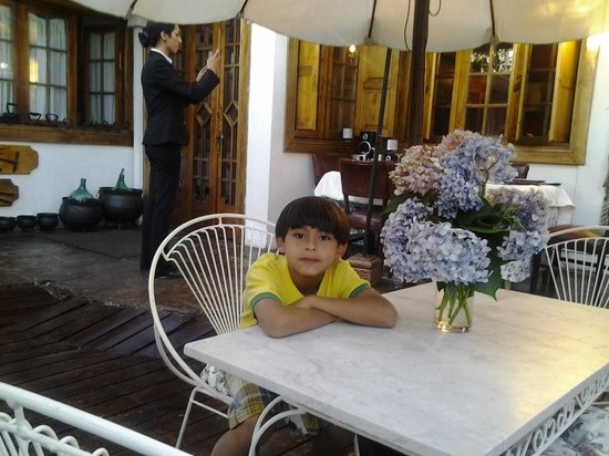 Hotel Boutique Vendimia Premium: Esperando la cena