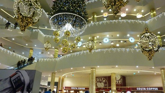 Galeria Shopping Mall: holiday decorations