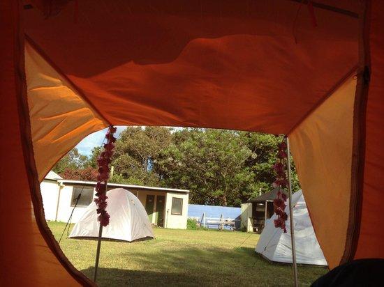 Camping Tipanie Moana: Location de tente et matelas