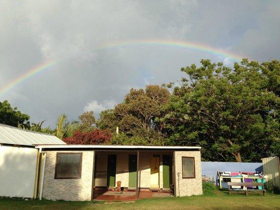 Camping Tipanie Moana: cuisine commune, toilettes et douches