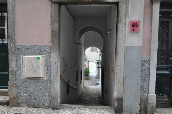 Casa do Patio by Shiadu: Entrance to hotel