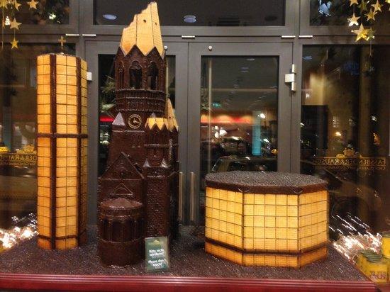Rausch Schokoladenhaus: The bombarded church in chocolate