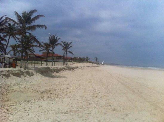 Vista do lado leste da Praia do Presídio.