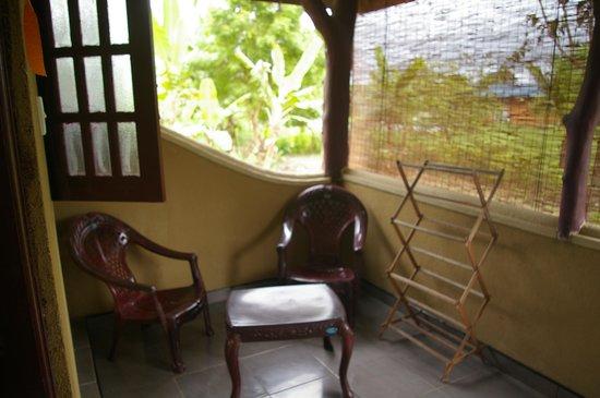The Hideout Sigiriya: La terrasse