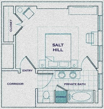 Aisling: Layout of Salt Hill