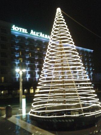 Hotel All'Alba: dall'esterno