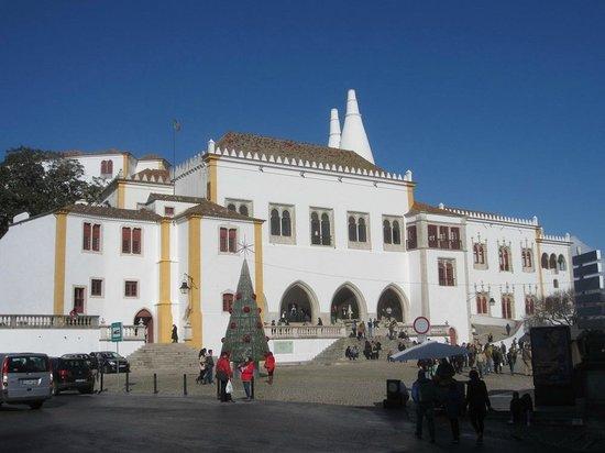 Palacio Nacional de Sintra: vue du palais de Sintra
