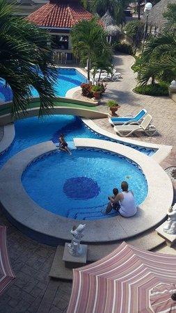 Quinta Real Hotel and Convention Center: vista desd la habitacion