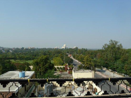 Hotel Taj Plaza : View from room no zoom