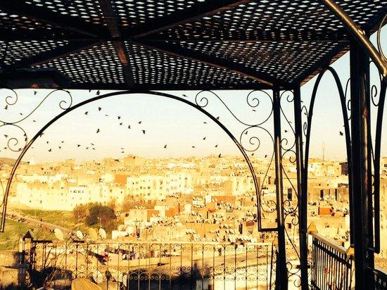 Riad Kettani : La vista dalla terrazza