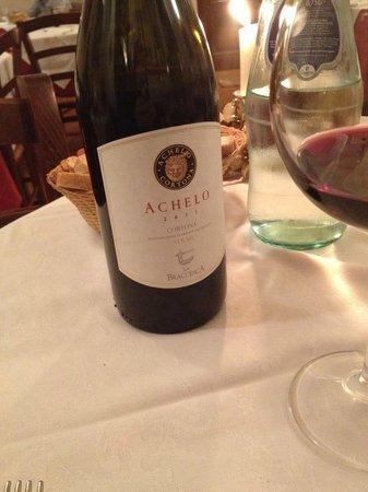 Hotel Italia: Our favorite wine in Cortona