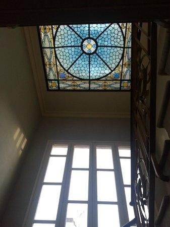 El Petit Palauet: Cupola / staircase
