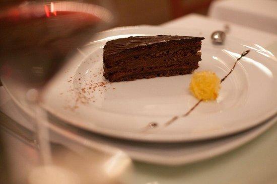 Restaurant Park Hvar: Chocolate cake