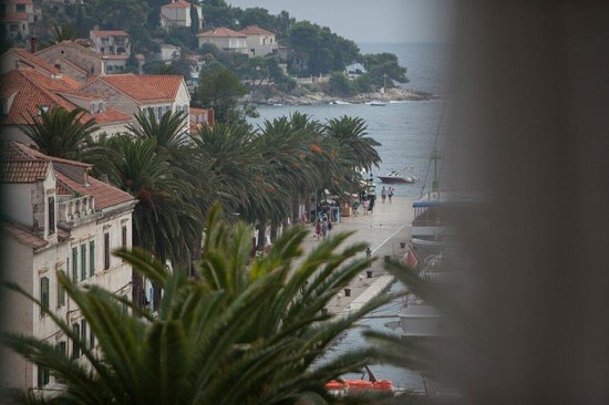 Hotel Park Hvar: View from the room #24