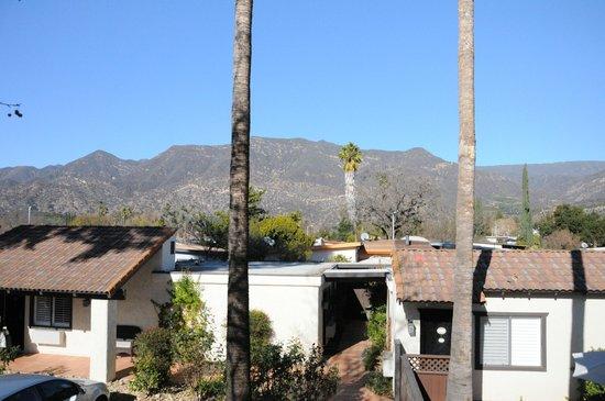 Hummingbird Inn: view from my front door